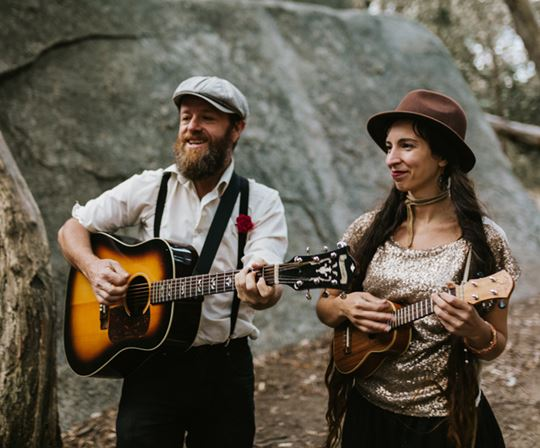 Meet the alternative wedding singers