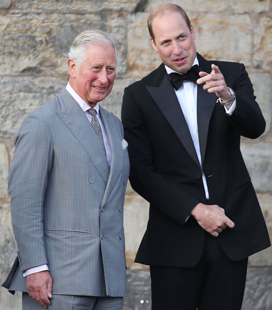 Prince Charles breaks the rules